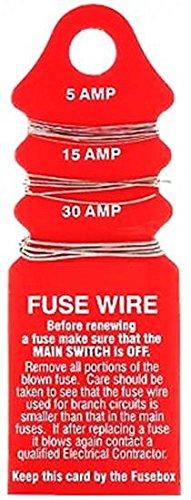2/x unidad consumidor dom/ésticas 5/A 15/A 30/A Fusible tarjetas de alambre