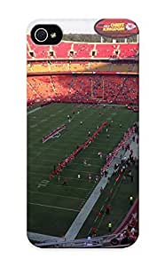 Graceyou Case Cover For Iphone ipod touch4 - Retailer Packaging Arrowhead Stadium Kansas City Chiefstadium Protective Case