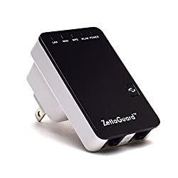 Zettaguard 10091 Wireless-N Mini Multi-Function Wi-Fi Router Lan Ap Range Extender WPS WLAN