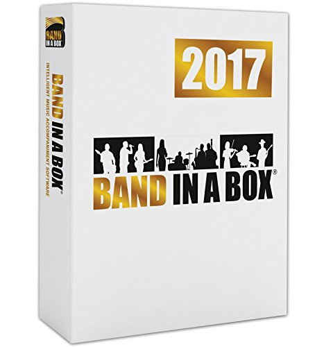 - Band-in-a-Box 2017 Pro [Old Version, Mac DVD-ROM]
