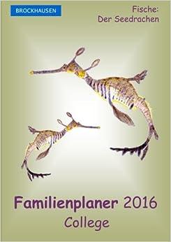 Book BROCKHAUSEN - Familienplaner 2016 - College: Fische - Der Seedrachen: Volume 12