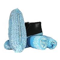 BESTeck Non-Slip Disposable Polypropylene Shoe Covers - bottom view