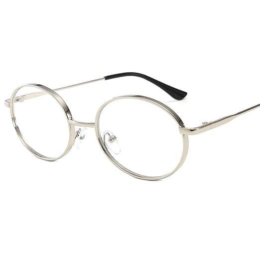 Yangjing-hl Gafas de Sol con Montura Ovalada de Tendencia ...