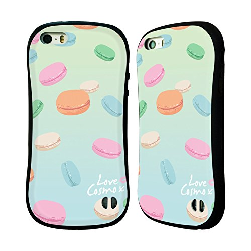 Official Cosmopolitan Macaroons Pastels Hybrid Case for Apple iPhone 5 / 5s / SE