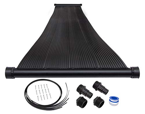SunQuest 1-2'X10 Solar Swimming Pool Heater with Roof/Rack Mounting Kit