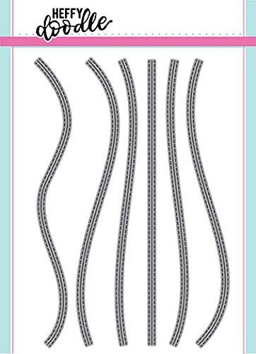 Heffy Doodle Die Set - Stitched Slopey Joes Border