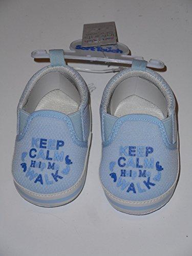 Soft Touch - Patucos para niño azul