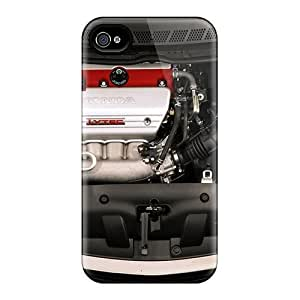 Tpu Fashionable Design Honda Accord I Vtec Engine Rugged Case Cover For Iphone 4/4s New