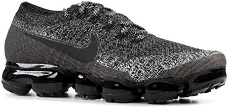 Nike Women s Air Vapormax Flyknit Running Shoe Black Black-White-Racer Blue 9.5