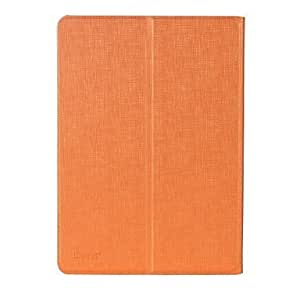 ISecret+ Ipad Air Leather Case Ichange Series One Case Two Style A12 ( Color : Orange )