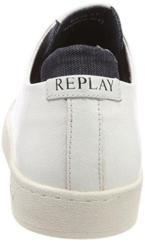 Replay Herren Wharm Sneaker Weiss (bianco / 61)