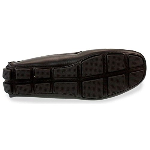 RODI Misano pour homme italien Conduite Chaussures–Noir