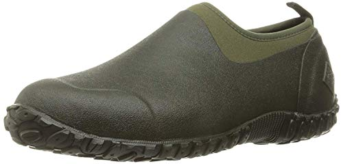 Muckster ll Men's Rubber Garden Shoes,Moss/Green,11 US