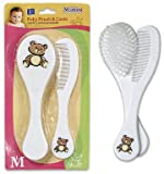 6.5'' 2pc Plastic Hairbrush & Comb Set 48 pcs sku# 1780620MA