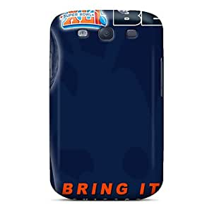 Durable Hard Phone Cover For Samsung Galaxy S3 (Bwh16502cgfD) Custom HD Chicago Bears Pictures