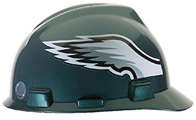 MSA Safety 818406 NFL V-Gard Protective Cap, Philadelphia Eagles