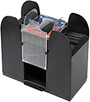 Rally and Roar Premium Automatic Casino Card Shuffler - Battery Operated, Holds 6 Standard Decks