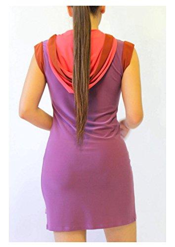 BI Women Plus Hood Designer s Purple IERULLO Dress Available IERULLO Spring Summer Bruno Size BRUNO rwPXqr