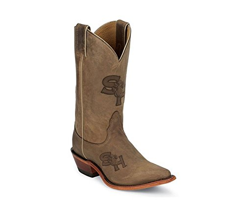 Nocona Ladies College Boots Sam Houston State Brown xNcXyq