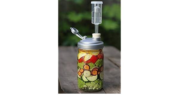 farmcurious mason jar fermenting kit mold free 2 pack white