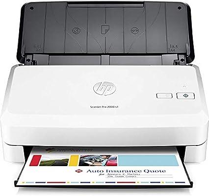 HP ScanJet Pro 2000 s1 - Escáner con Alimentador de Hojas: Hp ...