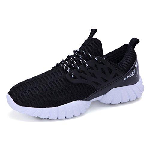 de caño bajo LFEU botas negro adulto Unisex fSF1Uwqx
