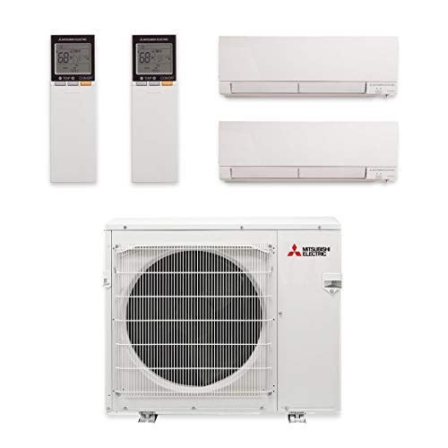 MXZ-3C30NAHZ Hyper Heat Dual-Zone Wall Mount Mini Split Air Conditioner by Mitsubishi