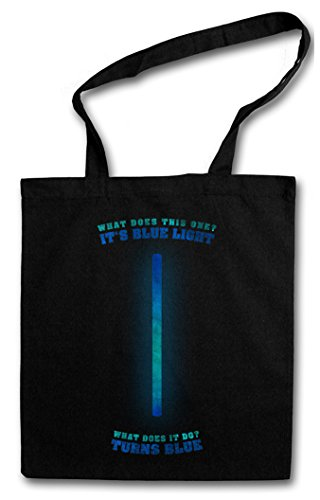 BLUE LIGHT HIPSTER BAG �?luz azul cita Rambo Stallone Quote Army Comedy Fun