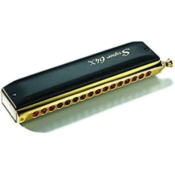 Hohner Super 64X Gold & Black Harmonica