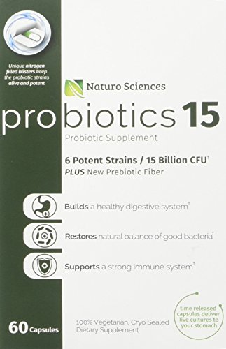 Naturo Sciences Probiotics Probiotic Supplement