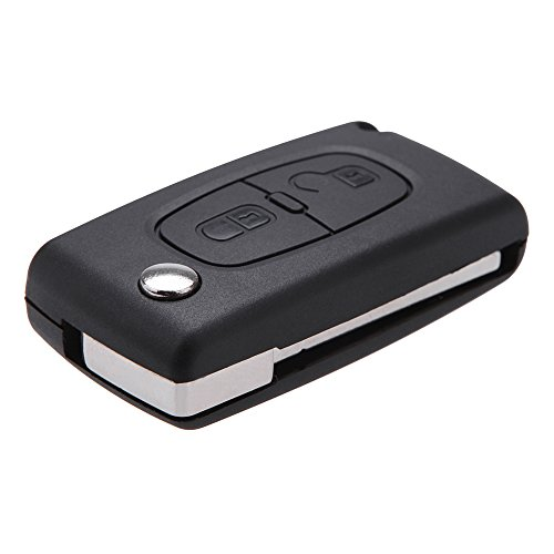 Docooler® Flip Replacement Remote Car Key Case Shell for CITROEN C2 C3 C4 C5 C6 C8 2 Buttons
