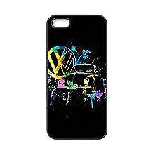 """Top Smartphone Cases Capa For iPhone 6Plus 6SPlus,For Apple iPhone 6 6S Plus 5.5"""" - Black Classic Volkswagen Bus Van VW Retro Car Logo"""