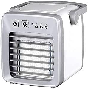 QHGao Mini Ventilador del Acondicionador De Aire, Pequeño ...