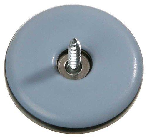 16 Stück Möbelgleiter Teflon rund zum schrauben Ø 19 mm, Stärke 5mm FD-Workstuff