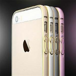 LCJ iPhone 6 compatible Metallic Bumper Frame , Black