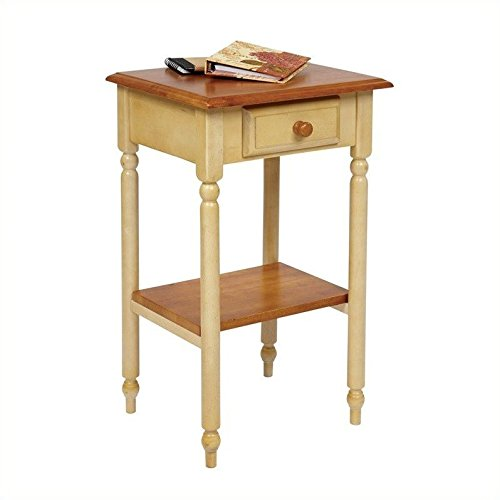 Country Multi-Tiered Telephone Table (Telephone Drawer With Table Tall)
