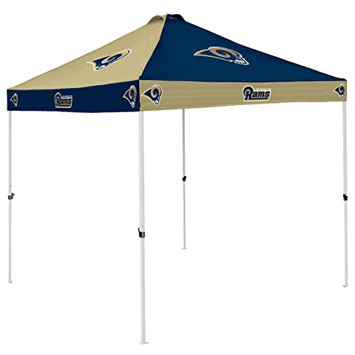 NFL St. Louis Rams Checkerboard Tent Checkerboard Tent, Navy, One Size by Logo Brands