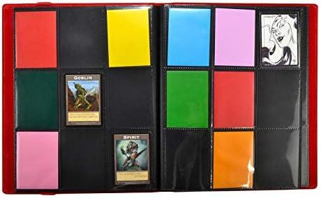 Red Dex Protection Binder 9 Card Storage Binder