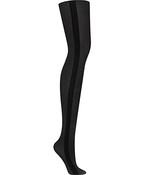 643622abbb7e4 DKNY Hosiery Tuxedo Stripe Tight (DYF009) S/Black at Amazon Women's  Clothing store: