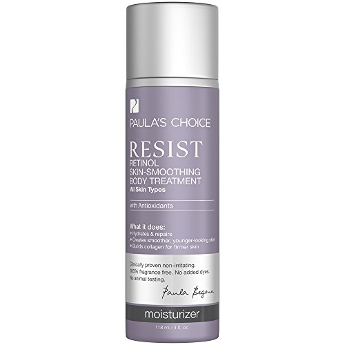Paula's Choice--RESIST Retinol Skin-Smoothing Body Lotion Treatment with Antioxidants, Vitamins, and Shea Butter-- 1-4 oz Bottle