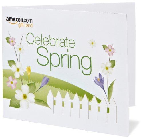 Amazon Gift Card - Print - Happy Spring!