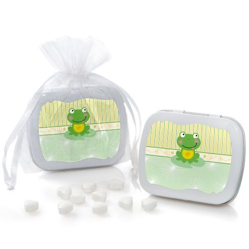 Froggy Frog - Mint Tin Party Favors - Set of 12 (Frog Mint)