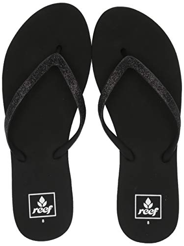 Reef Women's Stargazer, Black, 8 M - Womens Reef Ginger
