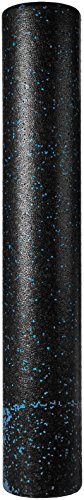 AmazonBasics High-Density Blue Speckled Round Foam Roller - 36-Inches