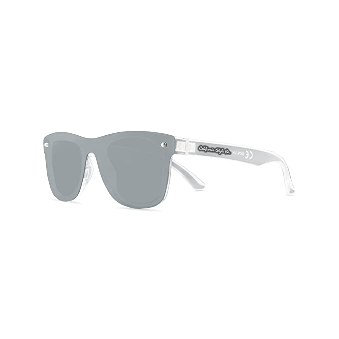 California Style Co. Hollywood Lights Gafas de Sol, Gris ...