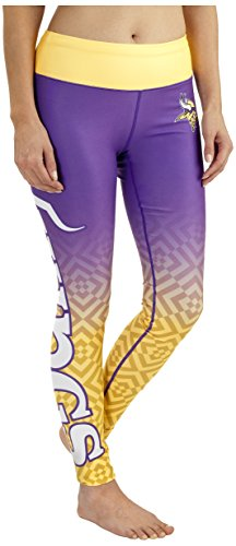 NFL Minnesota Vikings Gradient Print Legging, Purple
