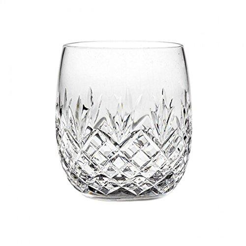 Royal Scot Crystal Hand Cut Crystal Glass Gin & Tonic G&T Barrel Tumbler 350ml 12oz Edinburgh Design | Presentation Box | Scottish Crystal