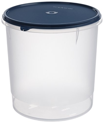 Signoraware Modular Round Plastic Container, 5.5 Litres, Set Of 1, Mod Blue Price & Reviews