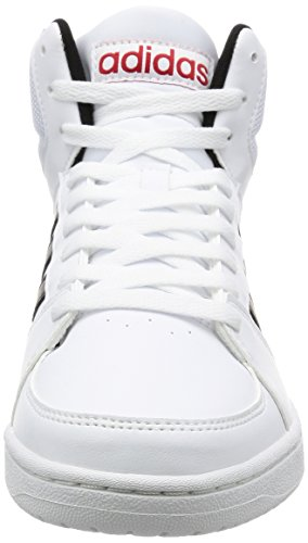 Adidas Vs Hoops Mid, Scarpe da Ginnastica Uomo, Bianco (Ftwbla/Negbas/Escarl), 46 EU