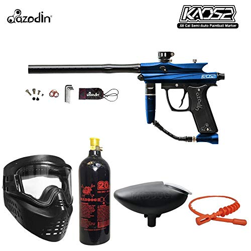 MAddog Azodin KAOS 2 Bronze Paintball Gun Package - Blue/Black